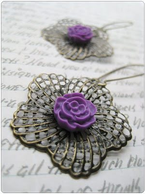 Floral Filigree Earrings – How To-sday thumbnail
