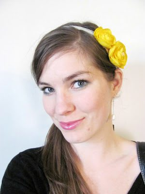how to-sday | spring flowers catch all fascinator thumbnail
