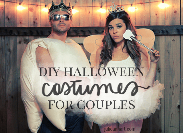 [tps_header] DIY Couples Halloween Costumes  sc 1 st  Shrimp Salad Circus & 10 DIY Couples Halloween Costumes - Shrimp Salad Circus