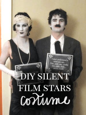 Silent Film Star Halloween Costumes thumbnail