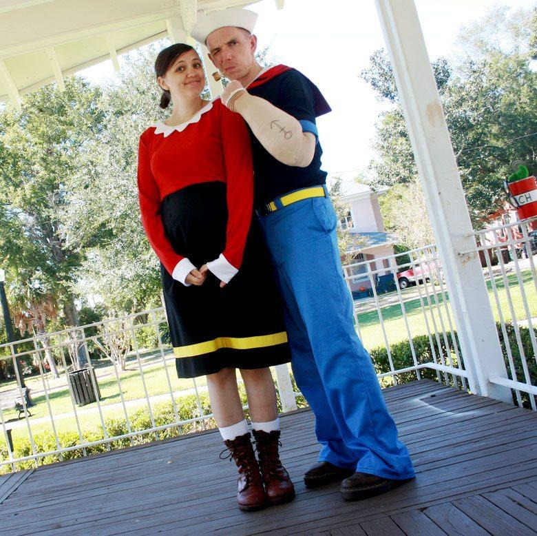 Popeye And Olive Oyl Via Xoelle
