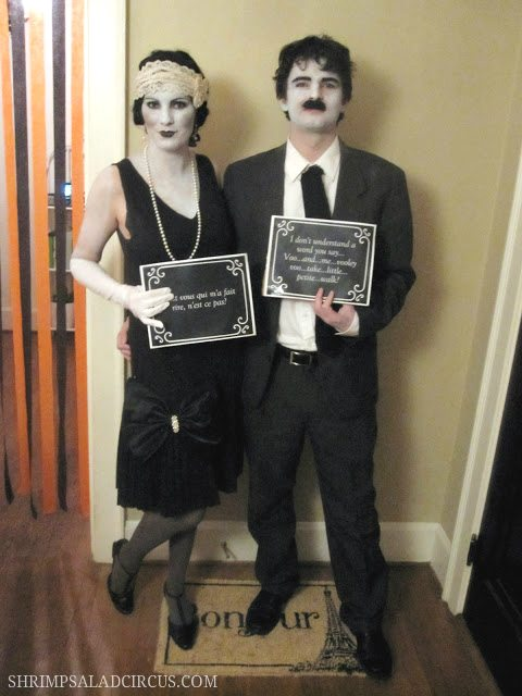 Silent Film Stars Halloween Costume