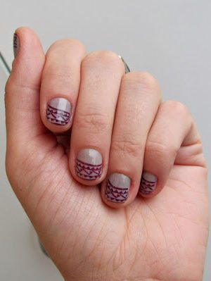 Aztec Pattern Manicure . How To-sday thumbnail