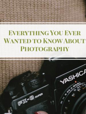 Top Photography Tips – Photography 101 thumbnail