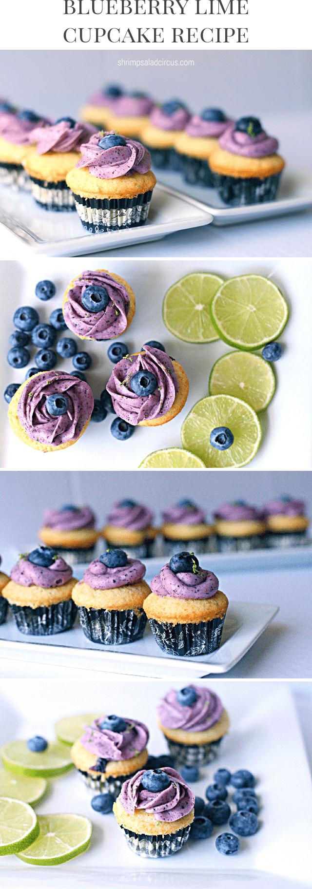 Lime Blueberry Cupcake Recipe - Shrimp Salad Circus
