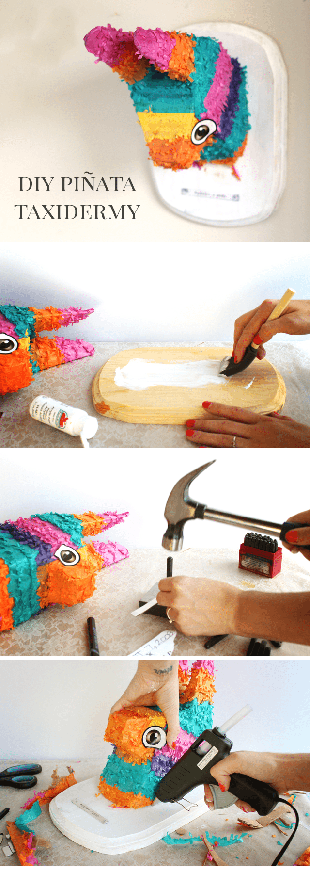 DIY Taxidermy Pinata Tutorial - Shrimp Salad Circus
