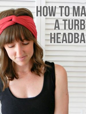 Easy Turban Headband – Sewing 101 thumbnail