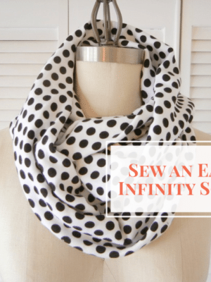 Easy Infinity Scarf . Sewing 101 thumbnail
