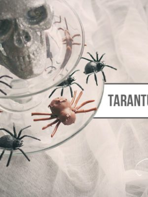 Tarantula Brownie Cake Balls . How To-sday thumbnail