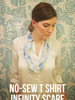 DIY No Sew T Shirt Infinity Scarf . How To-sday thumbnail