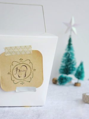 DIY Embossed Gift Tags – How To-sday thumbnail
