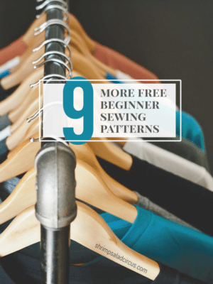 9 More Free Beginner Sewing Patterns thumbnail