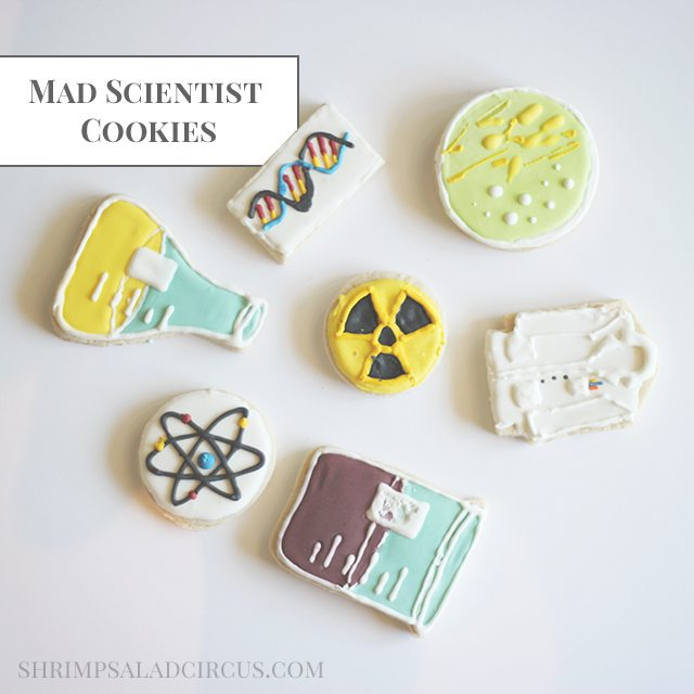 Shrimp Salad Circus Mad Scientist Cookies