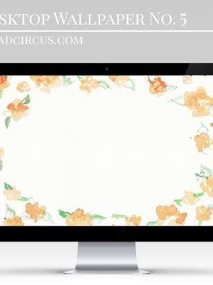 Floral Desktop Wallpaper . Freebies thumbnail