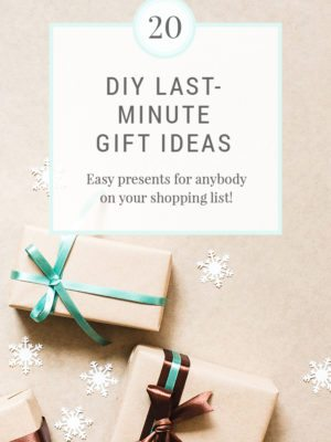 10 DIY Last Minute Christmas Gifts thumbnail
