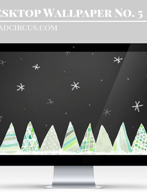 Watercolor Free Christmas Wallpaper – Freebies thumbnail