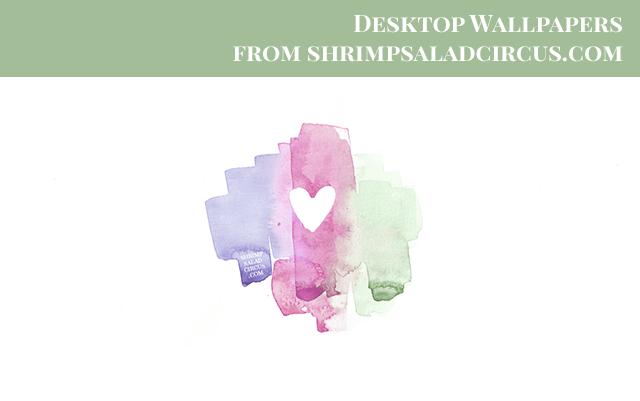 February Desktop Wallpaper Wallpaper Aubergine Preview
