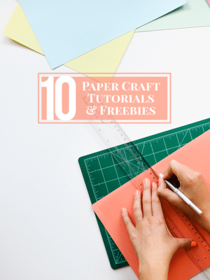 10 Paper Crafts To Make thumbnail