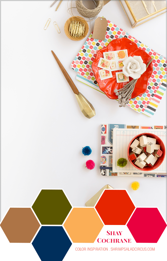 Color Inspiration featuring Shay Cochrane of SC Stock Shop