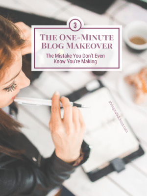 The Blogging Mistake You Don't Know You're Making thumbnail