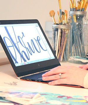 My Lettering Process (Oh, and a Lenovo YOGA 3 Pro Giveaway!) thumbnail