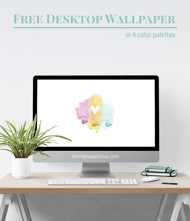 February Desktop Wallpaper - Valentine's Day Heart