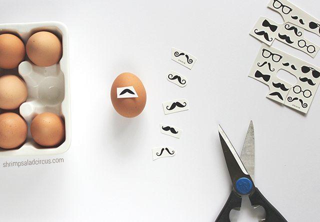 Easy Last Minute Easter Eggs Step 1