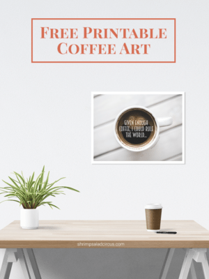 Free Printable Coffee Art thumbnail