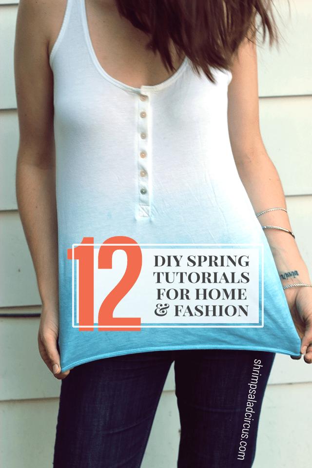 DIY Spring Tutorials
