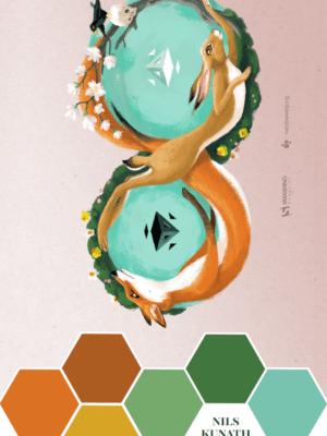 Nils Kunath's Fox & Hare – Color Inspiration thumbnail