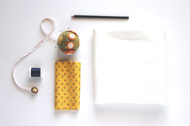 DIY Anthropologie Tasseled Jacare Pillow Supplies