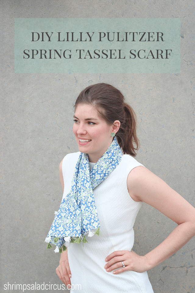 Lilly Pulitzer Target Scarf Tutorial