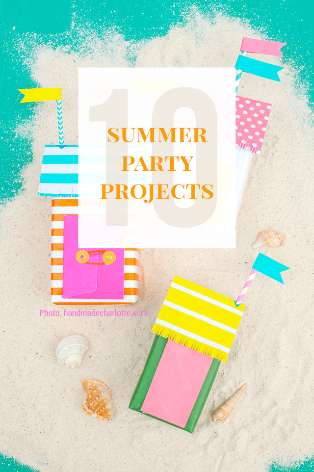 10 Diy Summer Party Decorations Projects