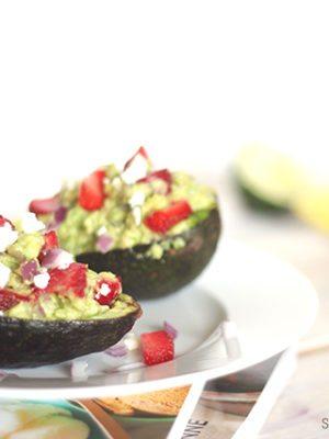 Strawberry Guacamole Recipe – Good Eats thumbnail