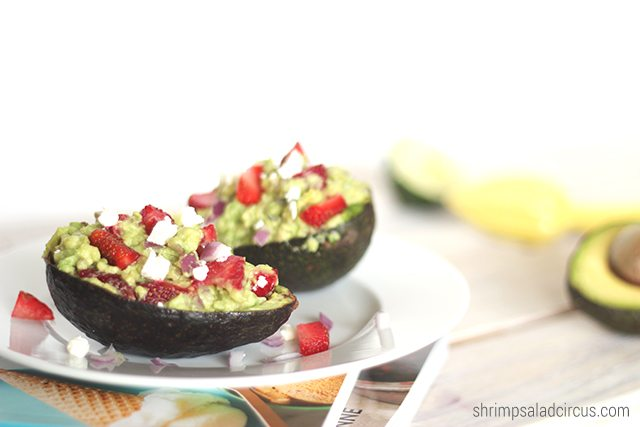 Strawberry Guacamole Recipe 3 1