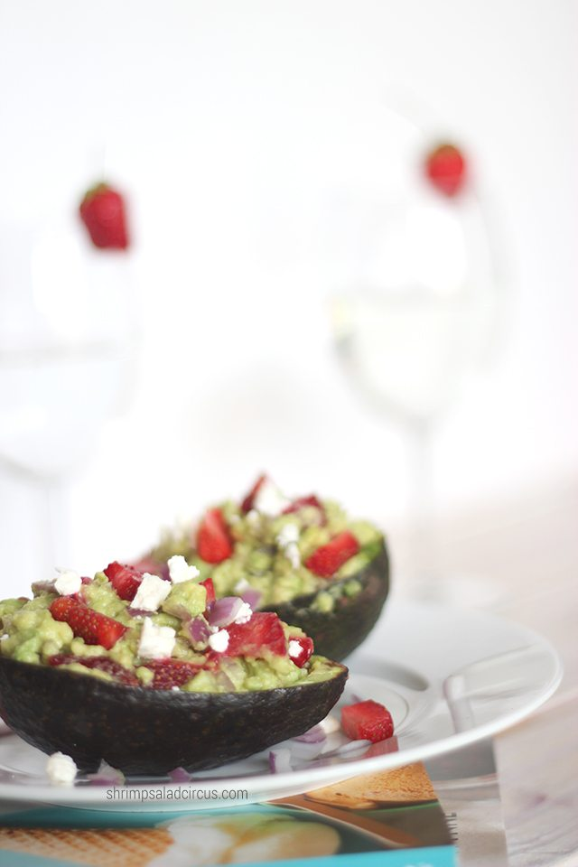 Strawberry Guacamole Recipe 4 1