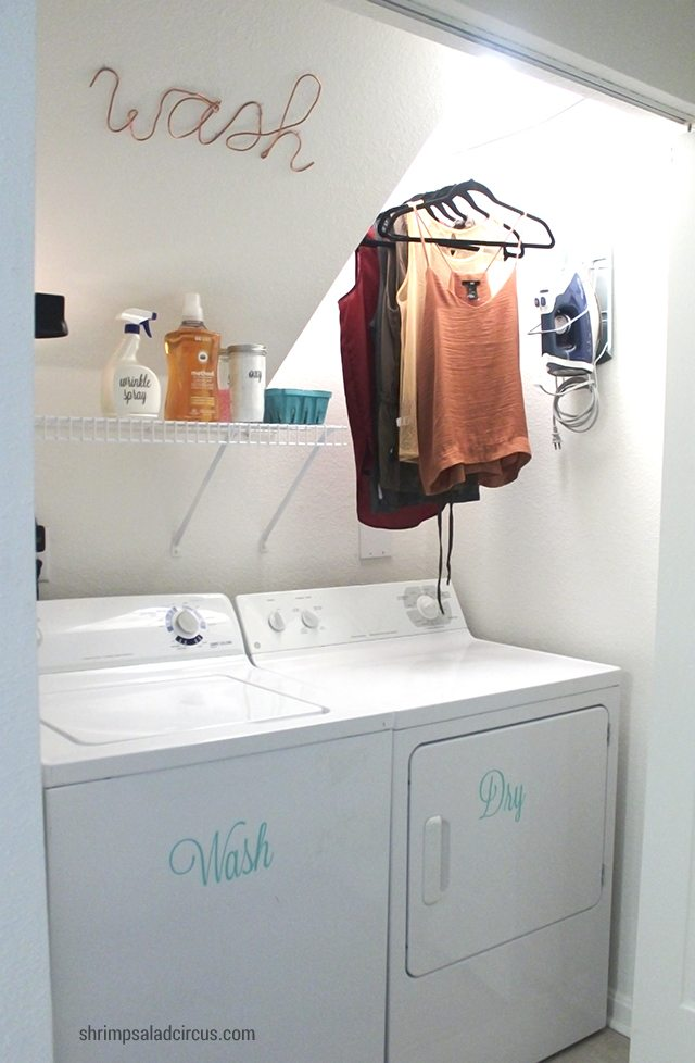 Budget Laundry Room Makeover 1