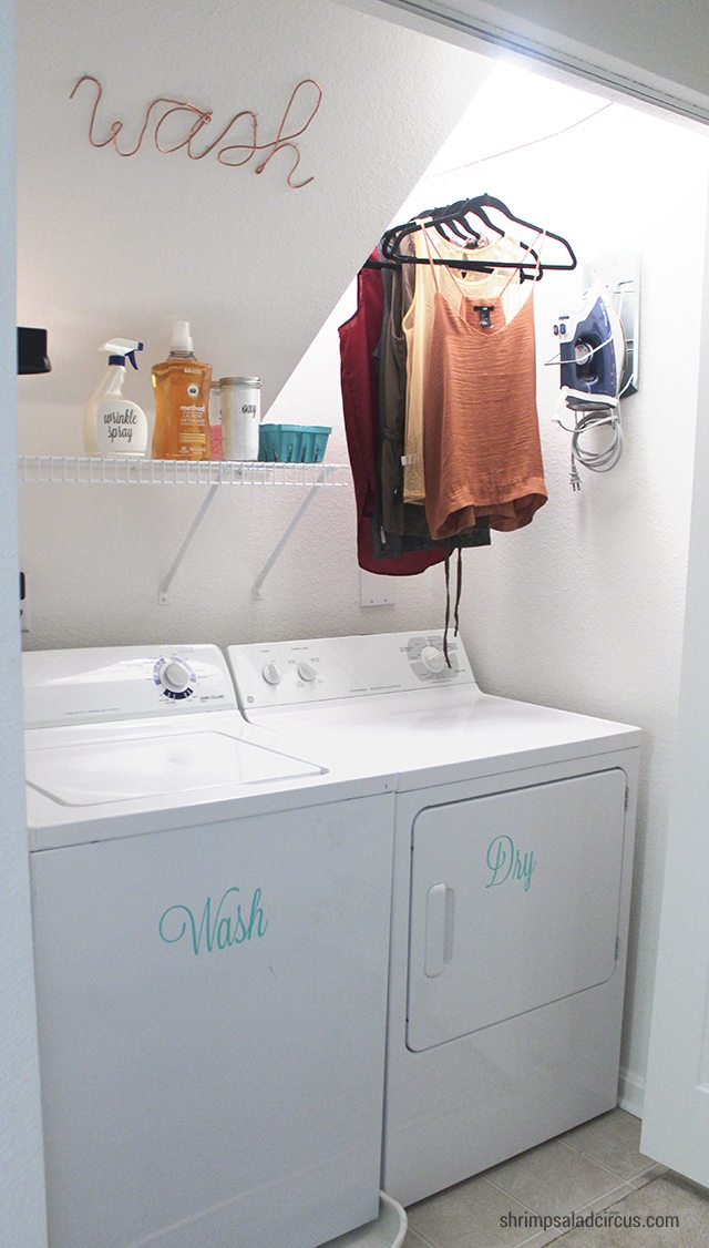 Budget Laundry Room Makeover 11