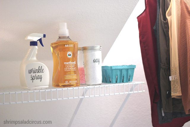 Budget Laundry Room Makeover 4