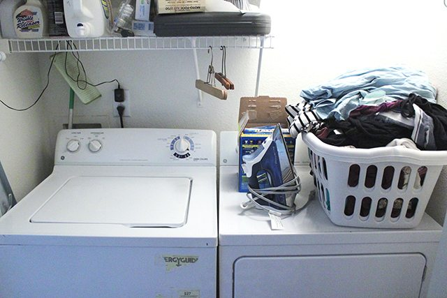 Budget Laundry Room Makeover 9