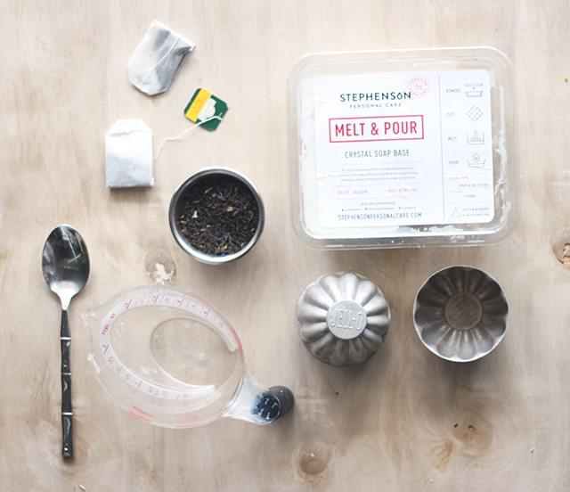Earl Grey Tea Soap Tutorial 001