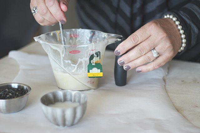 Earl Grey Tea Soap Tutorial Step 4