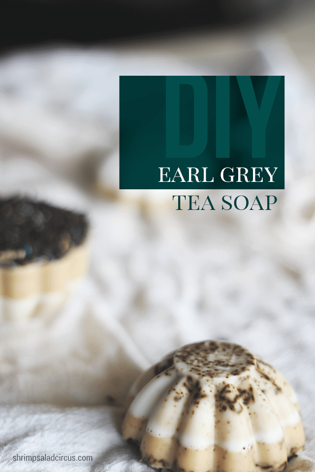 Earl Grey Tea Soap Tutorial