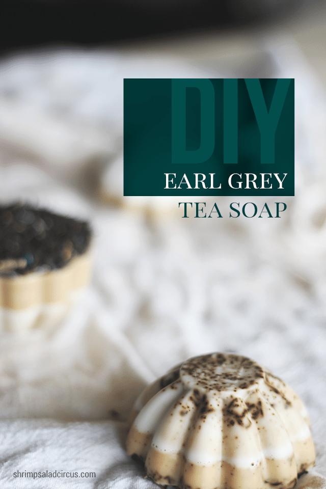 Earl Grey Tea Soap Tutorial