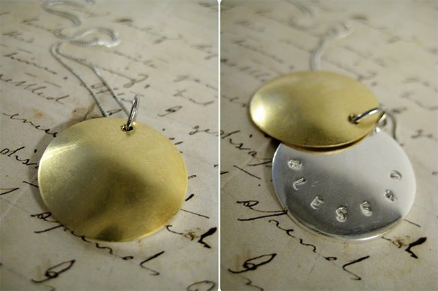 Hidden Message Locket Necklace