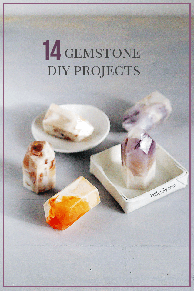 10 Gemstone DIYs to Make