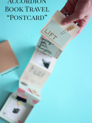 Accordion Book Travel Postcard – How To-sday thumbnail