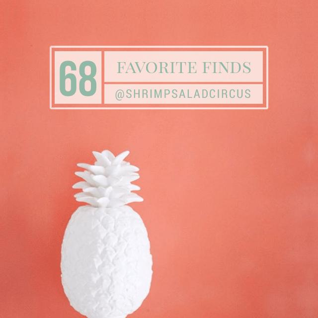 Favorite Finds No 68