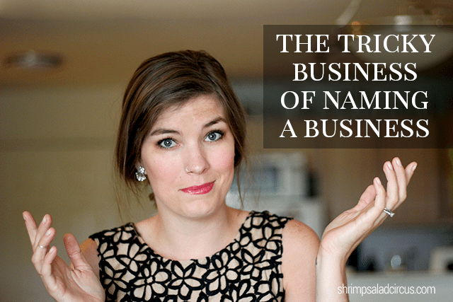 The Tricky Business of Naming a Business