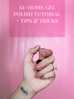 DIY Gel Polish Tutorial, Tips, & Tricks thumbnail